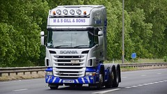 L800 MSG (panmanstan) Tags: scania r440 wagon truck lorry commercial freight transport haulage vehicle a63 everthorpe yorkshire