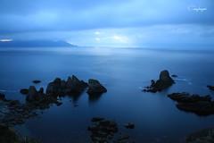 Azul oscuro casi negro.... (cienfuegos84) Tags: sea mar atlántico acantilados cielo cielos rocas cienfuegos