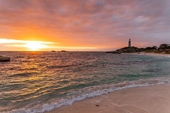 Morning Glow (Jared Beaney) Tags: canon6d canon australia photography photographer australian travel rottnest island islands westernaustralia rotto sunrise pinkysbeach bay beach ocen waves water lighthouse cloudy landscape landscapes