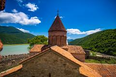 Ananuri Castle on the Aragvi River in Georgia (CamelKW) Tags: georgia june2017 aragviriver