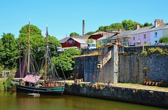 The Harbour in Charlestown (Eddie Crutchley) Tags: europe england cornwall charlestown outdoor harbour tallship beauty blueskies water simplysuperb sunlight greatphotographers