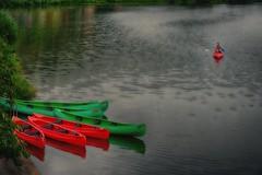 The end of the trip (explored) (ramerk_de) Tags: hdr upperpalatinate gabrielemünter kandinsky canoe bavaria
