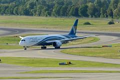 Oman Air Boeing 787-9 Dreamliner A4O-SD (EK056) Tags: oman air boeing 7879 dreamliner a4osd zürich airport