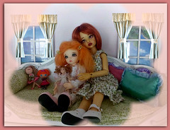 Sisters (Livdollcity) Tags: fairyland littlefee little fee dollmore narsha bjd bjds doll dolls resin