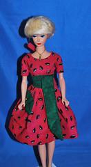 Let's Dance Melon (toomanypictures1) Tags: mattel vintagebarbie reproduction lets dance silkstoneclothes vintageskipper mod francie