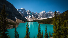 Moraine Lake, Banff National Park (throzen) Tags: canon 70d eos efs 1018 banff national park landscape outside outdoors scenic scenery blue nature beauty beautiful mountain mountans lake water