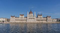 Hungarian Parliament building Budapest  (Explored) (swordscookie back and trying to catch up!) Tags: budapest hungary hungarianparliament danuberiver banks square elaborate picturesque