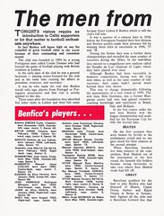 Celtic vs Benfica - 1974 - Page 4 (The Sky Strikers) Tags: celtic benfica challenge match for childrens cup park parkhead unicef official souvenir programme 20p