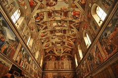 DSC_1267 (scsmitty) Tags: italy rome historic architecture art sistinechapel michelangelo cappellasistina ceiling