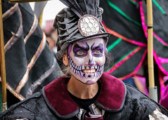 Surge Scotland's Beautiful Bones performing at Glasgow's Merchant City Festival (Gordon.A) Tags: scotland glasgow merchantcity merchantcityfestival august 2018 surge surgescotland beautiful bones trombone orchestra dayofthedead skull face paint makeup street band festival festiwal festivaali festivalen wyl féile festspiele event eventphotography streetevent candid streetphotography music lady woman people peoplemakeglasgow city citystreets urban arts artsfestival vibrant vibrance colour colours color colourful costume culture entertainer entertainers entertainment atmosphere celebration creative performer performers performance canon eos 750d