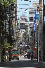 tokyo7259 (tanayan) Tags: urban town cityscape tokyo japan nikon v3 東京 日本 road street alley kanda 神田
