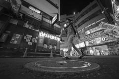 MANHOLE (ajpscs) Tags: ©ajpscs ajpscs japan nippon 日本 japanese 東京 tokyo city people ニコン nikon d750 tokyostreetphotography streetphotography street seasonchange summer natsu なつ 夏 2018 shitamachi night nightshot tokyonight nightphotography citylights tokyoinsomnia strangers urbannight attheendoftheday urban othersideoftokyo walksoflife tokyoscene anotherday dayfadesandnightcomesalive monochromatic grayscale monokuro blackwhite blkwht bw blancoynegro manhole