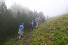 Vranica mountain, Bosnia and Herzegovina (HimzoIsić) Tags: mountaineering hiking trekking outdoor mist fog poeple mountain mountainside hill grassland grass forest wood
