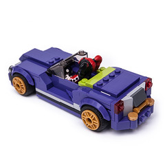 70906 HQ Cabrio (KEEP_ON_BRICKING) Tags: lego moc car mod legomoc vehicle cabrio 70906 set rebuild alternate alternative model build dark purple keeponbricking 2018 building instructions rebrickable