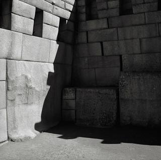 Corner, the Main Temple, Machu Picchu