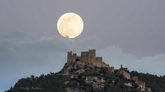 Alcalâ de Xivert. Luna llena del 29/04/2018 (:) vicky) Tags: luna llena castellón nocturna night noche moon montaña