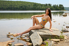Courtney at The Quabbin (Peter Camyre) Tags: quabbin reservoir peter camyre photography picture beauty pretty female model pose posing beautiful canon camera image pictures portraits fashion summer summertime people friends