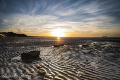 Ryde Beach At Sunset (a.harvey photography) Tags: setting rocks wight southcoast isleofwight d810 nikon beach sunset fullframe sun colour sky waves sand landscape filter iisleofwight sea solent ryde southampton
