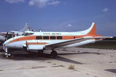 N1578V Sebring 24-3-1982 (Plane Buddy) Tags: n1578v dove dh104 stateairlines sebring ksef