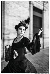 -- (Matías Brëa) Tags: mujer woman girl cosplay retrato portrait blancoynegro blackandwhite byn bw bnw