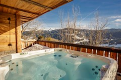 Chalet (pandp.snowflake) Tags: alps cabin chalet design france french frenchalps hottub hut jacuzzi lesgets luxury maisondhiver mountain mountains pro property realestate winter