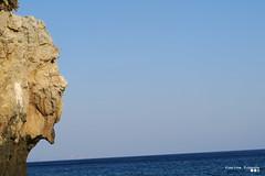 Always looking south... (Κώστας Καϊσίδης) Tags: sky sea seascape rocks naturesculpture southcrete southrethymno rethymno rodakino peristeresbeach crete greece hellas scene scenery summer july blue