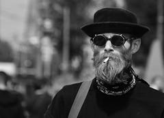 Time Takes A Cigarette (Photographer : Hans Stellingwerf) Tags: amsterdam damamsterdam straatfotografie streetphotography nederland netherlands holland mensen people straatmoment hansstellingwerf portret portrait sigaret cigarette