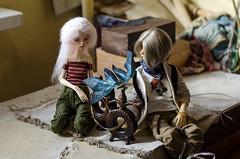 pottery workshop (Suliveyn) Tags: pottery ceramic boho etnica bjd doll mini super dollfie dollzone jake dollchateau
