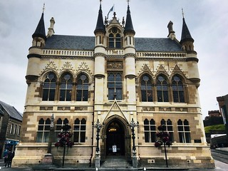 Town House Inverness built in the Flemish Baronial style.