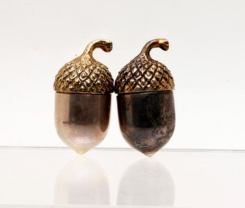 Tiffany & Co. STERLING Acorn Form Thimble Cases ($268.80)
