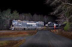 When They Were Common (WillJordanPhoto) Tags: highhood seneca utica clemson trains ns norfolk southern 5060 railroad transportation track railway night z line p67