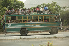Bus full (CesareLaDeda) Tags: rajastan india color beautiful people man bus