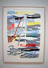 Sunshine through the Clouds, by Roy Lichtenstein (JB by the Sea) Tags: sanfrancisco california july2018 financialdistrict sanfranciscomuseumofmodernart sfmoma lithograph popart roylichtenstein