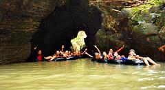 Goa Santirah (Explore Pangandaran) Tags: greensantirah santirah rivertubing pangandaran arungjeram rafting bodyrafting ciamis parigi selasari desaselasari jawabarat wisatasungai