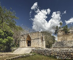 Ek Balam 4545 ch (Emilio Segura López) Tags: arco arqueología arquitectura maya pirámide ekbalam yucatán méxico