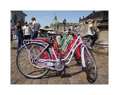Marmorkirken (Franco & Lia) Tags: copenhagen copenaghen københavn denmark danimarca marmorkirken street fotografiadistrada photographiederue bike bicycle bicicletta