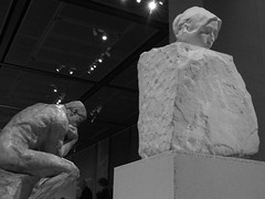 Thinker and Thought (failing_angel) Tags: 010518 london camdenborough bloomsbury britishmuseum museum rodin rodinandtheartofancientgreece sculpture augusterodin pheidias thought camilleclaudel thoughtemergingfrommatter thethinker parthenon