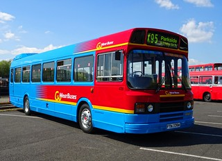 FTN 708W - Leyland National 2 @ Newcastle Quayside