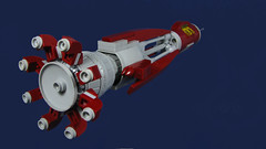 The Astral Spire (Karf Oohlu) Tags: lego moc scifi microscale microspacetopia spaceship