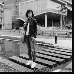 000913110009 (Steven Tsai (正港蔡爸)) Tags: hasselblad501c hasselblad planar128f80mm shanghaigp3100 expiredfilm bw mediumformat analog film filmphotography