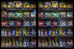 Snack vending machine 3-D / CrossView / Stereoscopy / HDRaw (Stereotron) Tags: automat snack vending machine quietearth cross eye view xview crosseye pair free sidebyside sbs kreuzblick bildpaar 3d photo image stereo spatial stereophoto stereophotography stereoscopic stereoscopy stereotron threedimensional stereoview stereophotomaker photography picture raumbild canon eos 550d chacha singlelens kitlens 1855mm 100v10f tonemapping hdr hdri raw availablelight