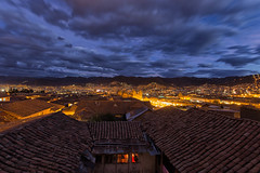 Over the rooftops - EXPLORED  (June 27, 2018) (JD~PHOTOGRAPHY) Tags: cusco nightlights citylights city peru longexposure bluehour dusk citylandscape rooftopview landscape canon canon6d