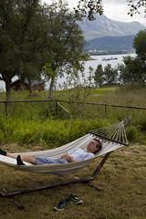 Semester, Engöya 2018 (Anders Österberg) Tags: hängmatta hammock sleeping holiday semester norge norway mouintains berg sea hav view utsikt vacation