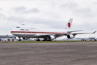 JASDF B747-400 20-1102 001