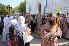 55. Праздник изнесения Честных Древ Животворящего Креста 14.08.2018
