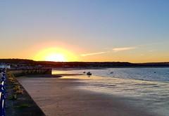 Coastal Sunset (hurlham) Tags: mumbles oystermouth swansea