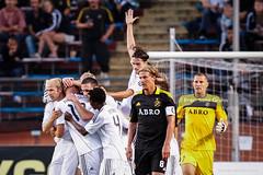 2010-07-28 AIK - Rosenborg SG9378 (fotograhn) Tags: fotboll football soccer uefachampionsleaguequalifier aik rosenborgbk sport sportsphotography canon mål goal jubel jublande glad glädje lycka happy happiness celebration celebrates solna stockholm sweden swe