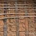 Baoulé settlement still life