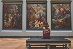Inspiration - Credit to https://www.semtrio.com/ (Semtrio) Tags: art creative creativity exhibition gallery girl inspiration louvre museum old painting paintings pictures relax relaxation vernissage woman
