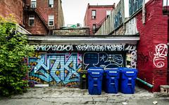 Graffiti Alley - May 31, 2018 (Katherine Ridgley) Tags: toronto graffiti graffitiartist art artist gallery downtown city urban streetphotography streetart street tag tagging tagged paint spraypaint building wall